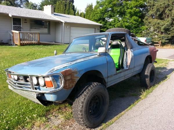 5k: Bratzilla: 1980 Subaru Brat Monster Truck