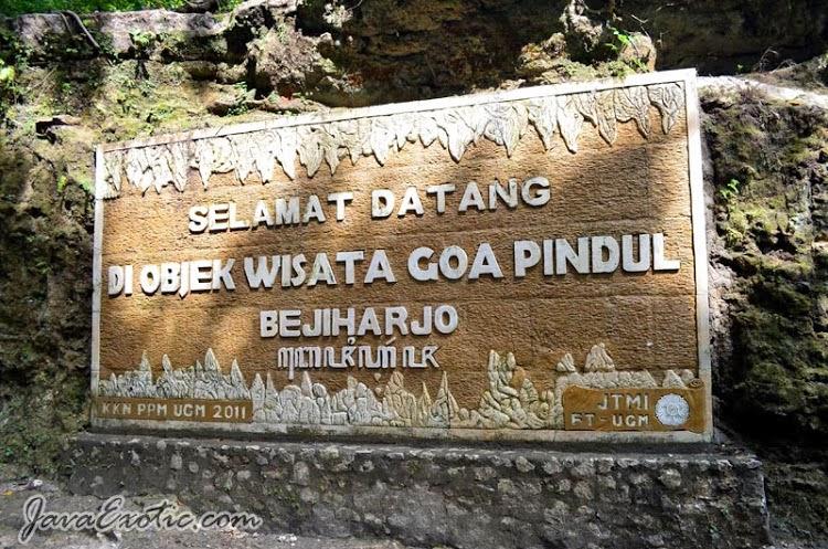 Selamat datang di Goa Pindul