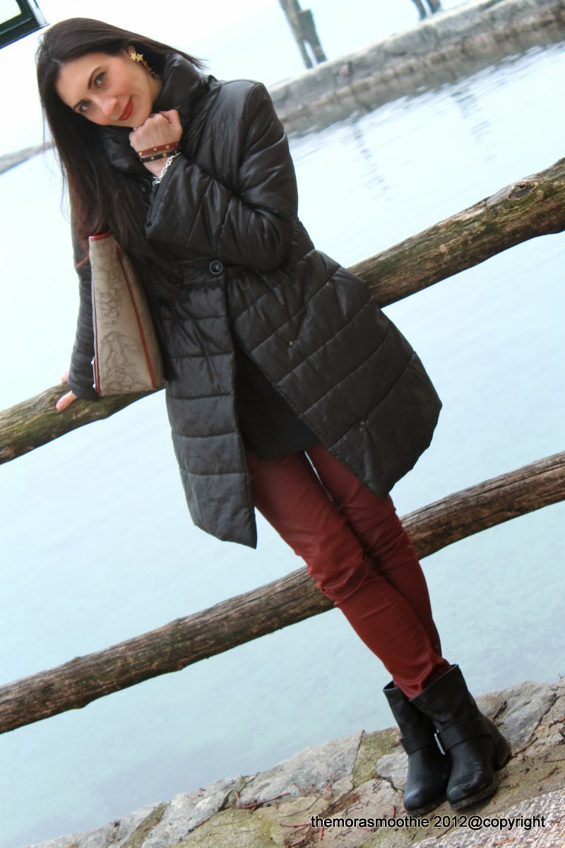 look, themorasmoothie, fashionblog, fashionblogger, primaclasse bag, alviero martini bag, diy fashion