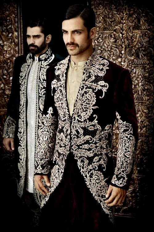 Royal Groom Sherwani Dresses by Arsalan Iqbal
