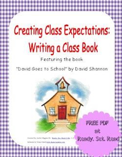 Free PDF, book activities, David Shannon,
