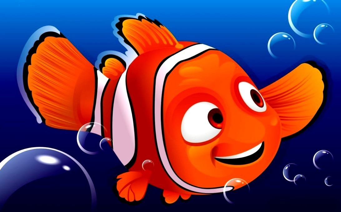 Finding Nemo, Gambar Kartun 1