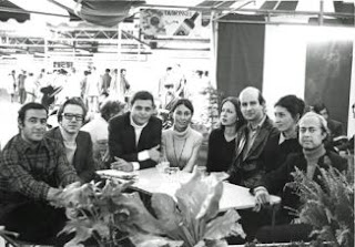Photograph illustrating the English translation in The New Yorker of short story Labyrinth by Roberto Bolano. Picture shows people whose story it is.