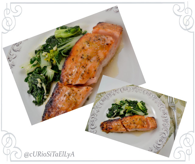 ... : Low Cal Dinner - Miso Maple Glazed Salmon & Macaroni Cheese
