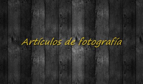 Artículos Fotografía
