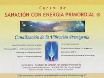 Curso de SANACIÓN CON ENERGIA PRIMORDIAL ®