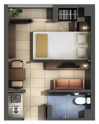 Denah Rumah Mungil Type 21 & Denah Rumah Mungil Type 21 | Desain Denah Rumah Terbaru | Denah ...