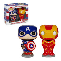 Pop! Home Salt & Pepper Captain America & Iron Man