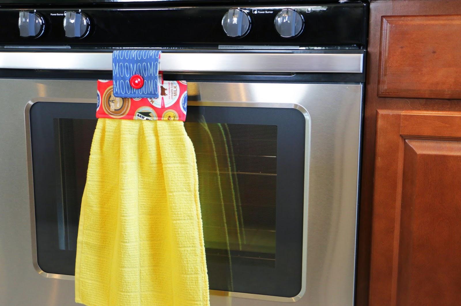 Kitchen Towel Hanging Milk Cow Kitchen Towel Fat Quarter Shops Jolly Jabber