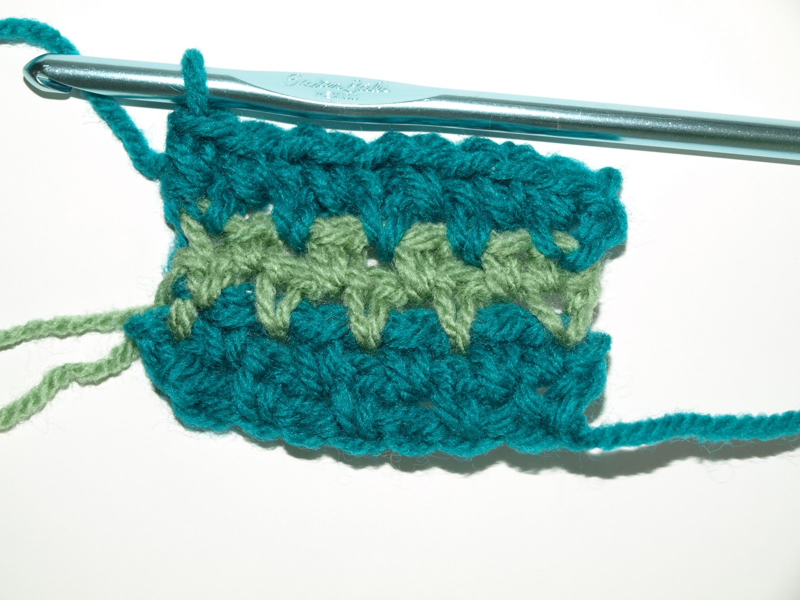 CrochetByKarin: Lattice Stitch