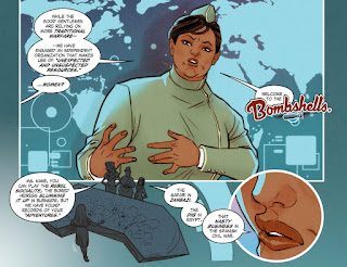 Page 19 of DC Comics Bombshells #8 featuring Amanda Waller