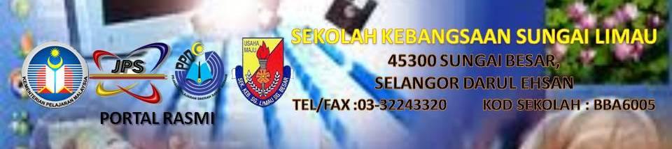 Laman Web Rasmi SK Sungai Limau,Sg Besar,Selangor