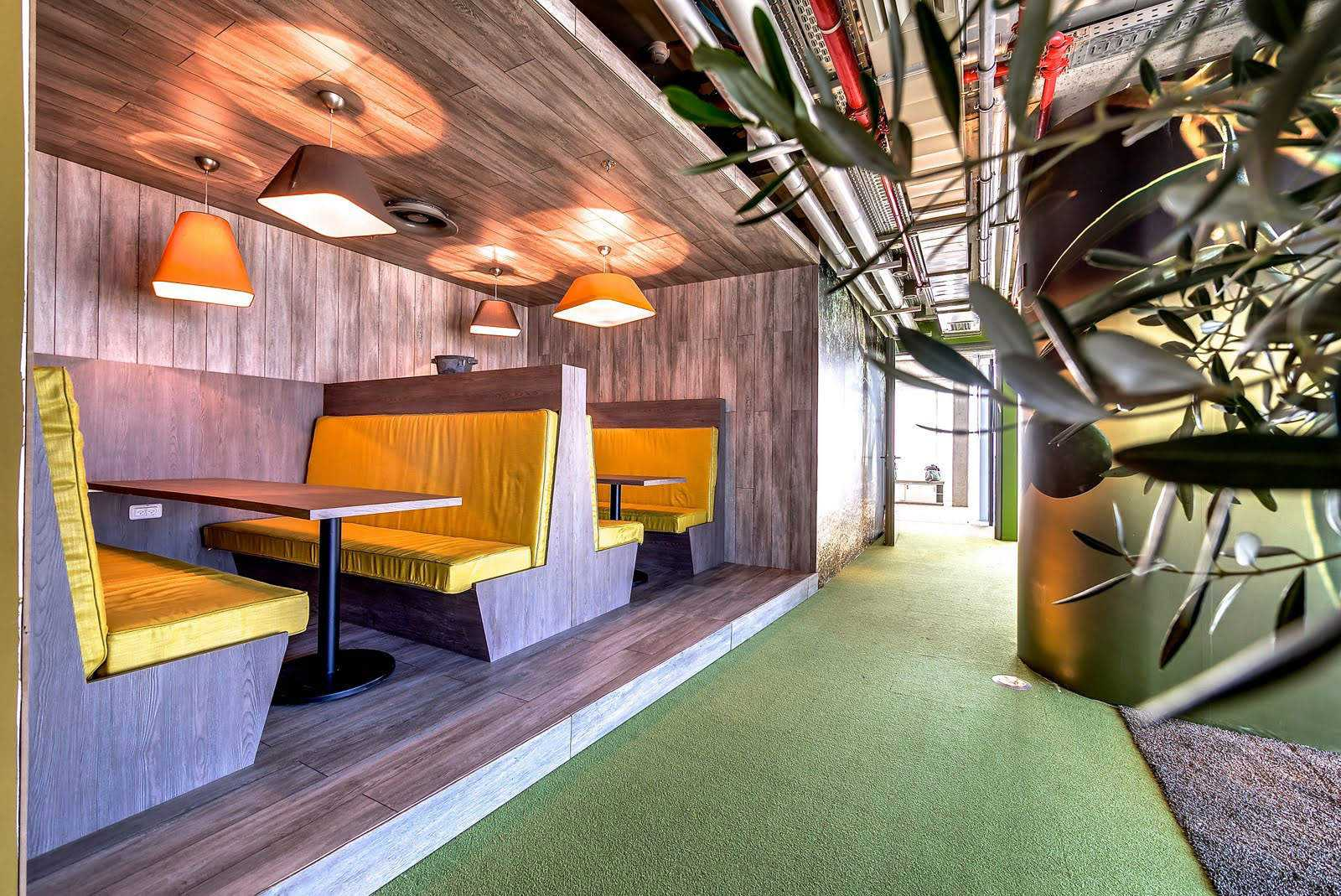 Google tel aviv office by camenzind evolution for Office design google