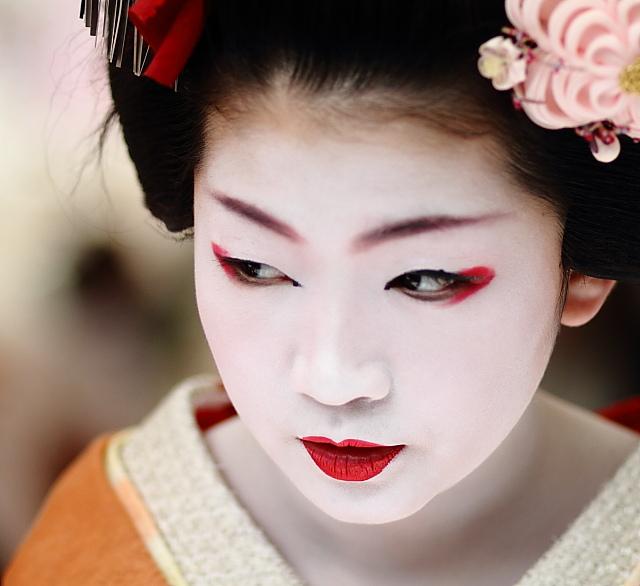 Favori ARplus: Dietro la maschera di una Geisha OV35