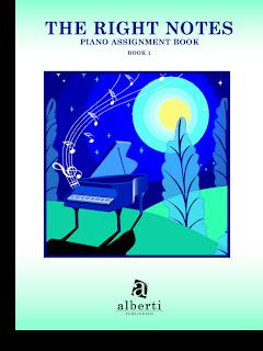 Piano Assignment Book, found at Bendorf Piano Studio