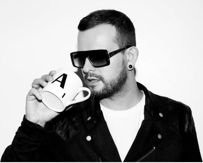 DJ Adam Shelton in AM Eyewear's Rick sunglasses