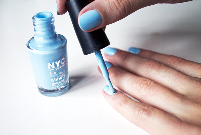 Fashion Attacks beauty At the moment NYC blue
