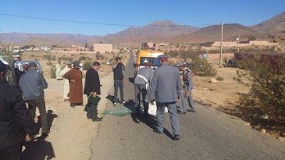تافراوت:سائق سيارة بيكوب يدهس تلميذة ويرديها قتيلة بجماعة تارسواط