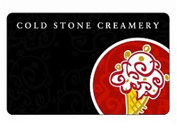 Cold Stone Creamery giveaway