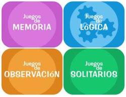JUEGOS DE MEMORIA, OBSERVACIÓN...