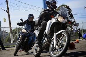 Entradas de Curvas, Confiança na moto