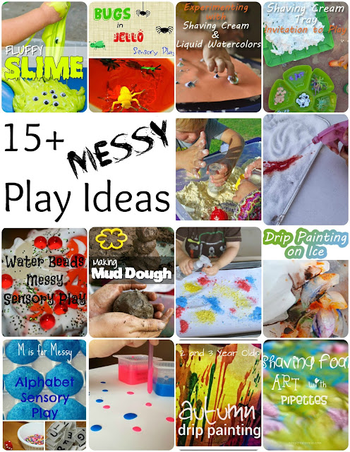 More than 15 messy play ideas for kids