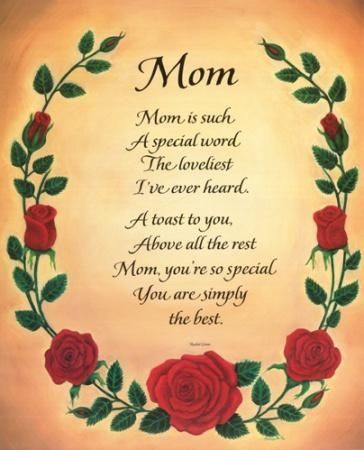 mothers day poetry