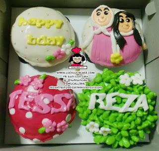 Birthday Cupcake 2D Untuk Sahabat