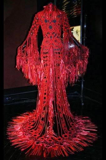 balowa suknia szydelkiem