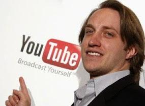 Youtube di buat oleh Chad Hurley