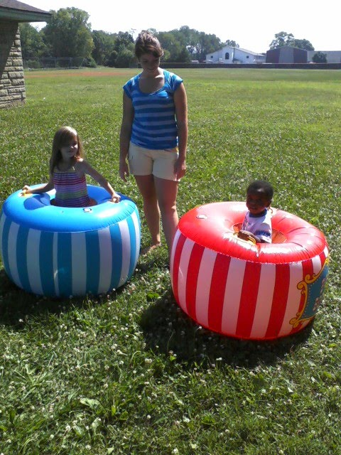 Bopper Inflatable Bumper Cars