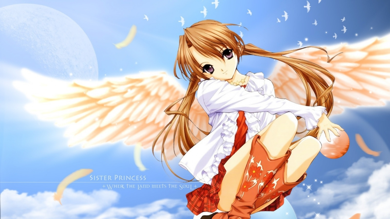 Anime Girls With Wings - Pinterest