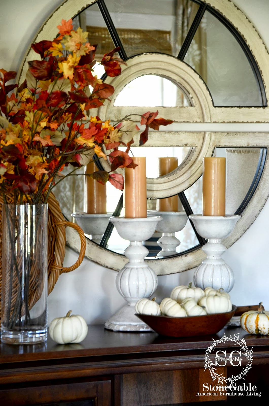 Fall Home Tour And A 1 500 Giveaway Stonegable
