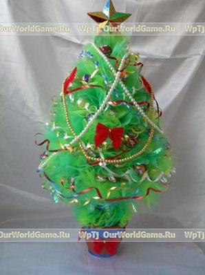 Как можно сделать игрушки на елку своими