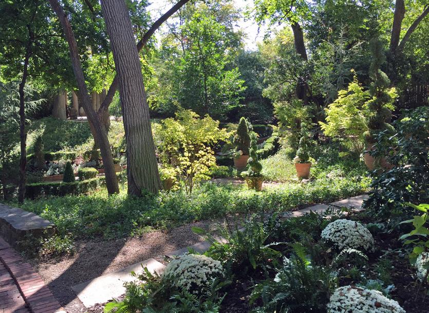 Lake And Garden The Garden Conservancy Texas Open Day