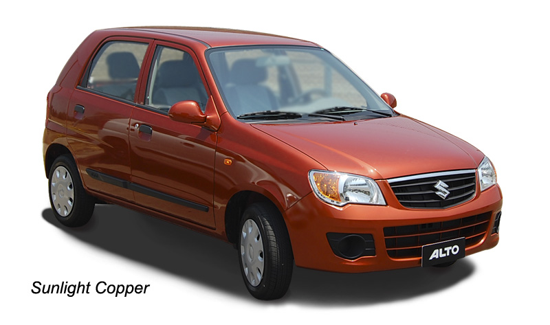 CAR SPECIFICATIONS & PRICE - INDIA: Maruti Suzuki Alto K10