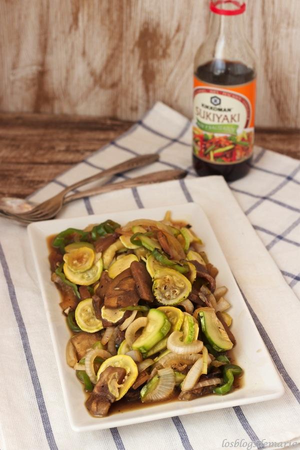Verduras al suriyaki