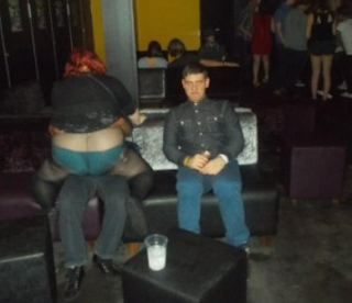 funny love pictures fat woman in nightclub