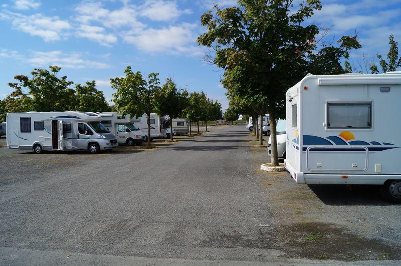 parking de Futuroscope de autocaravanas, aparcar en futuroscope