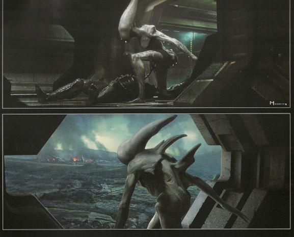 Cineol ver tema diseccionando prometheus for Prometheus xenomorph mural