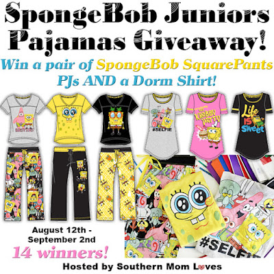 Enter the Richard Leeds SpongeBob Pajamas Giveaway. Ends 9/2