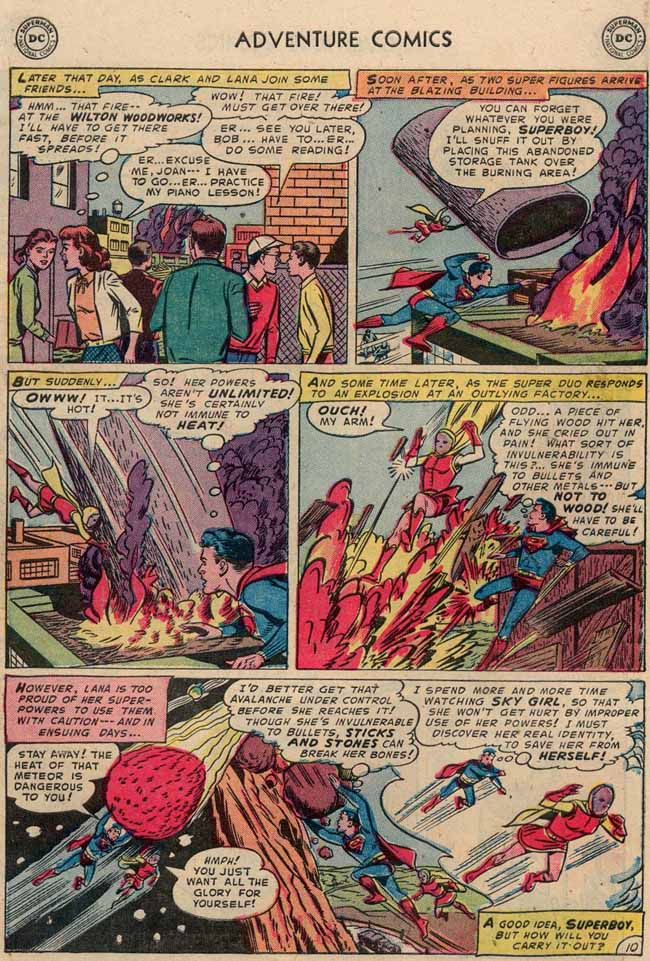 Days of adventure adventure comics 189 june 1953 huge in 1953 starring in nightclubs on radio in movies and on television when they broke up a few years later jerry got custody of the comic book solutioingenieria Images