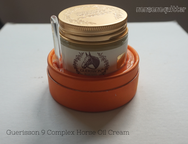claire's guerrison complex 9 horse oil cream review and pictures/photos/video. Horse oil benefits for the skin. Horse oil in skincare. How is horse oil sourced? Mahyu skincare products. Mayu skincare products. Claire's Guerisson 9 Complex Horse Oil Cream review. 게리쏭 9컴플렉스. Horse Fat in Skincare. Horse Fat Skincare.