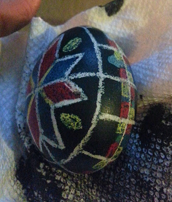 NAMC montessori easter activities ukrainian easter eggs pysanky