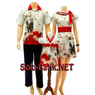SK017 Sarimbit Batik Keluarga Pasangan Solo 2013
