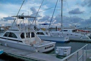 Puerto Morelos boats El Cid Marine