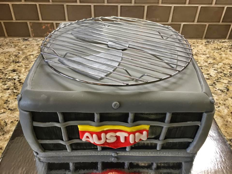Sweet Melissas Air Conditioner Cake