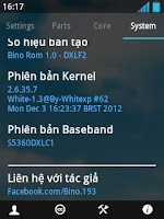 Bino Rom v1.0 for Samsung galaxy y gt-s5360 with ICS theme