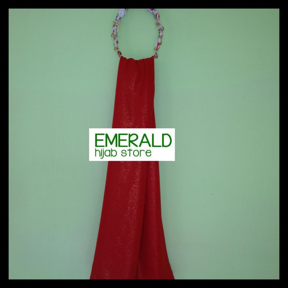 emerald hijab store shawl pashmina glitter