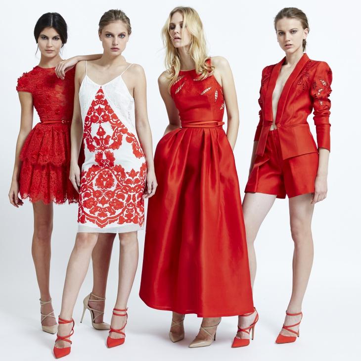 красный и белый в одежде